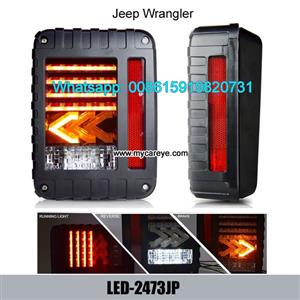 Jeep Wrangler Brake Backup Reverse Yellow Arrow Turning Signal Light Tail Lamp Assembly