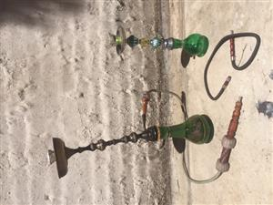 Beautiful authentic Syrian hookahs for sale