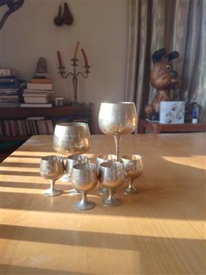 Wine and Shooter mugs
