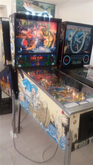 Fish Tales Pinball Machine by Williams