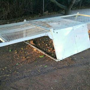 Roof rack NISSAN HARDBODY 35mmX50mm tubing frame