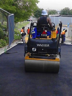Tar Resurfacing in Gauteng