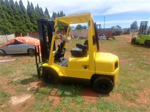 2.5ton Hyster diesel container forklift