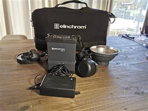 Elinchrom Quadra ELB 400 One Hi-Sync Head To Go Kit & Elinchrom Quadra Reflector Adapter MK-II (26342)