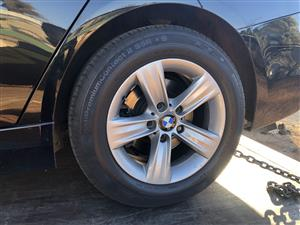 Bmw f30 rims and tyres Available