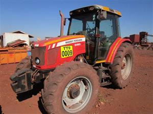 Massey Ferguson Dyna-4, MF 5460 CAB 4x4 Tractor - ON AUCTION