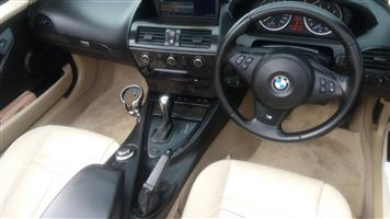 2006 BMW 6 Series convertible 650i CONVERT A/T (F12)