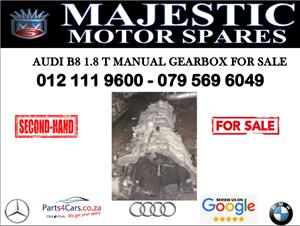 Audi A4 B8 1.8T gearbox for sale