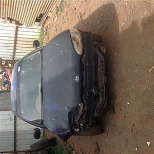 Stripping  Hyundai Accent 1999 for Spares