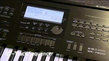 Casio keyboard WK 240