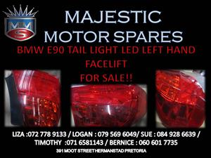 BMW E90 LED TAIL LIGHT LEFT  SIDE FOR SALE !!