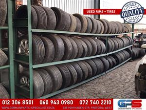 Quality Used Rims + Tires
