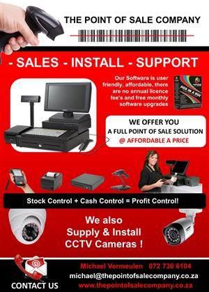 Point Of Sale Hardware & Software