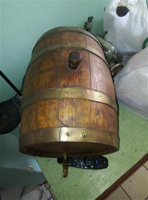 French barrel display unit for sale R500