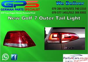 NEW GOLF 7 OUTER TAIL LIGHT FOR SALE