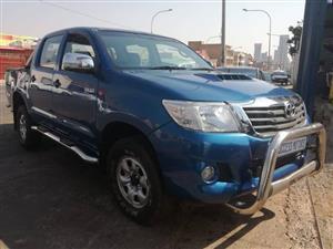 2011 Toyota Hilux 2.5D 4D double cab 4x4 SRX