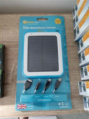 Save Now: Solar Powered Smartphone and Tablet Charger