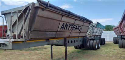 2011 Afrit Interlink Side Tipper