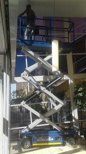 VerticalZA Scissor Lift JLG2033-E - 8m Electrical Manlift