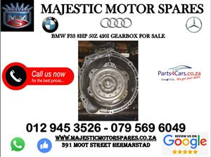 Bmw F33 8hp50z gearbox for sale
