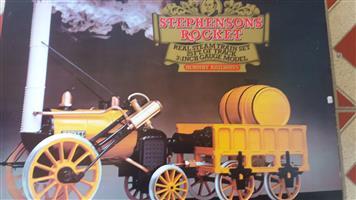 Hornby live steam train set
