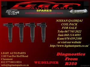 NISSAN QASHQAI COIL PACK FOR SALE