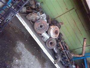 ADE 352 turbo enige spares complete reconditioned cylinder head pump and various other ADE spares complete package