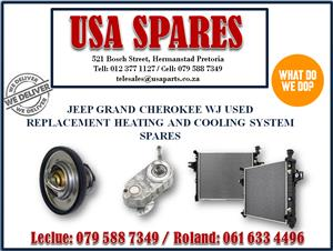 JEEP GRAND CHEROKEE WJ USED REPLACEMENT HEATING AND COOLING SYSTEM SPARES- USA SPARES CALL NOW