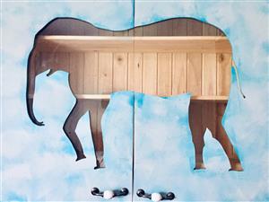 Elephant Wall Mounted Cupboard