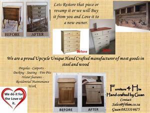 Remodel or Repair Antique Furniture