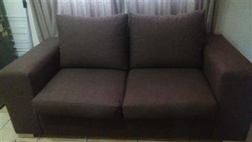 2 Seater Brown Couch
