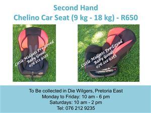 Second Hand Safeway Cutie Girl Car Seat 9 Kg 25 Kg Junk Mail