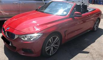 2014 BMW 4 Series 428i convertible M Sport sports auto