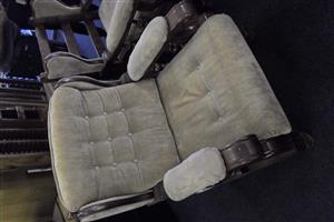 Grafton Everest Wooden Framed Material Lounge Suite