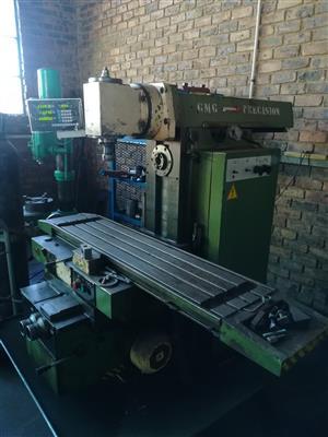 Unika Universal Milling Machine for sale