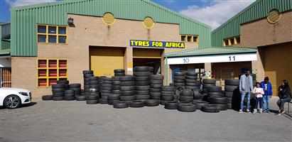 Tyres for Africa MIDRAND  all tyres R250 each fitted OPENING SPECIALS