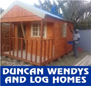 DUNCAN WENDYS AND LOG HOMES