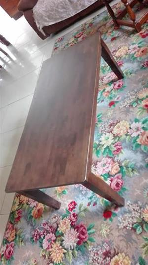 Coffee table. Steel window frame