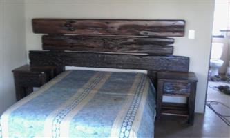 Sleeper double bed