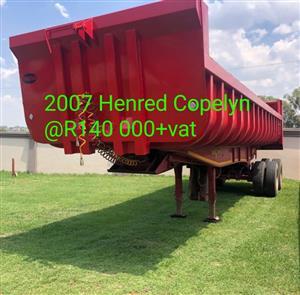 2007 Henred copelyn trailer