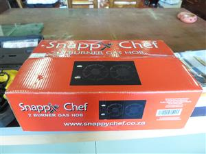 Snappy Chef 2 Burner Gas Hob