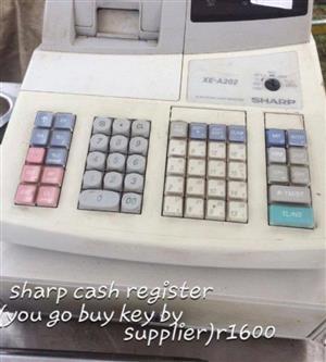 Sharp cash register for sale