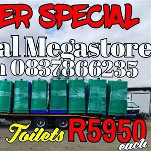 Sept Plastic Toilets Sale