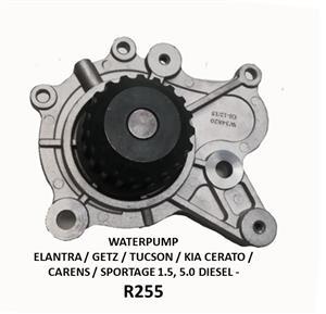 WATER PUMP *NEW* - ELANTRA / GETZ / TUCSON / CERATO / CARENS / SPORTAGE 1.5, 2.0 DIESEL