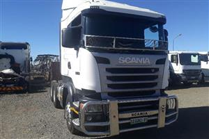 Double axle Scania G460 Truck-Tractor
