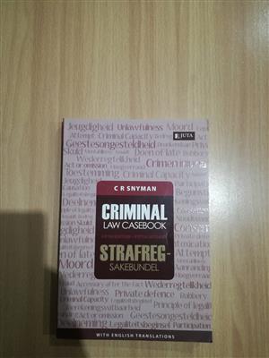 Criminal Law Casebook 5th ed