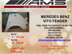 CHRISTMAS SPECIALS!!!  MERCEDES BENZ VITO FENDER FOR SALE