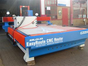 R-1325LK/30V EasyRoute 380V Lite 1300x2500mm PVC Clampable Vacuum CNC Router, 3kW Water