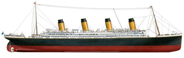 Titanic kit