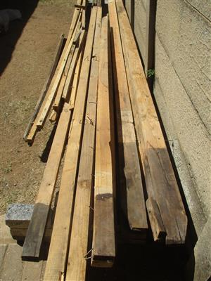 Timber to build zozo or shack